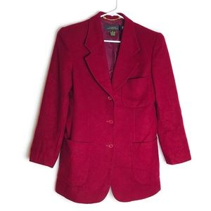 Classiques For Nordstrom 100% Wool Blazer
